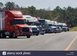 Trucks Stopped At Rest Area Along Interstate Highway I-75 Florida ... Truck Show 75 Chrome Shop Death On The Highway Your Survival Guide For Sthbound I75 Closure Valdosta Georgia Lowndes College Restaurant Attorney Drhospital Stop On I Elon Musk Says Tesla Tsla Plans To Release Its Electric Semitruck Petrol Station Stops Locations Allied Petroleum Open Again In Manatee County After Fatal Car Fire Shuts Down Pilot Stock Photos Images Alamy