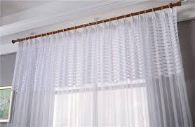blau 1 x 2 m lichtdurchlässig voile vorhang gardinen