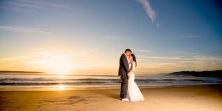 Say I Do On Valentines Day Winter Beach Wedding Ventura California Sunset Romance