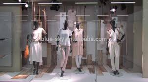 Artificial Wood Retail Window Dressing Display Props Visual Merchandising Creative
