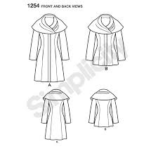 pattern for misses u0027 leanne marshall easy lined coat or jacket