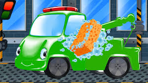 100 Towing Truck Games Tow Tow Car Wash Kids Games Kids YouTube