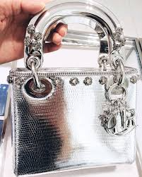 the colors of the lady dior shiny python bags bragmybag