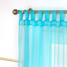 gardinen transparent mit schlaufen stores vorhang schal