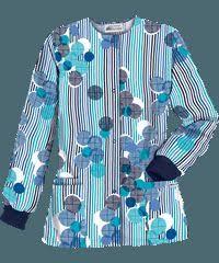 Ceil Blue Print Scrub Jackets by Ua Circle Games Navy Print Scrub Top Got It Medical Field