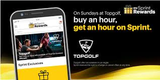 Tee It Up With My Sprint Rewards And Topgolf! Sprint ...