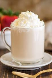 Photo Of Homemade White Chocolate Mocha With Whipped Cream And Shavings