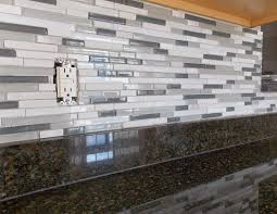 Mapei Thinset For Glass Tile by Jessica Stout Design Kitchen Backsplash Install Day 2