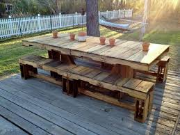 Architecture Pallet Patio Table Outdoor Furniture Architecture