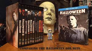 Halloween 6 Producers Cut Dvd by Comparing The Halloween Complete Collection Box Sets Youtube