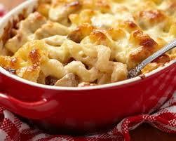 recette gratin de pâtes au poulet pas cher en 20 min