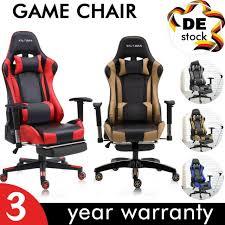 gaming chair gaming stuhl bürostuhl spielstuhl racing computerspiel chefsessel