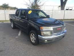 100 2009 Gmc Truck PreOwned GMC Canyon SLE1 Crew Cab Pickup In Jacksonville
