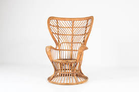 Rattan Italian Mid-Century Modern Wingback Chair By Lio Carminati ... Italian 1940s Wicker Lounge Chair Att To Casa E Giardino Kay High Rocking By Gloster Fniture Stylepark Natural Rattan Rocking Chair Vintage Style Amazoncouk Kitchen Best Way For Your Relaxing Using Wicker Sf180515i1roh Noordwolde Bent Rattan Design Sold Mid Century Modern Franco Albini Klara With Cane Back Hivemoderncom Yamakawa Bamboo 1960s 86256 In Bamboo And Design Market Laze Outdoor Roda