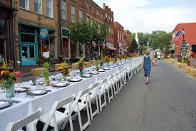 The Dining Room Jonesborough Tennessee by Campy Wedding Style Farm To Table Dinner On Main 2011