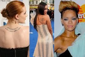 The Best Celebrity Tattoos