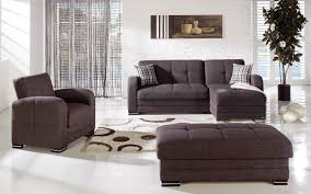 Brown Couch Living Room by Kubo Andre Dark Brown Sectional Sofa By Sunset