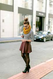 Outfit Metallic Winter Outfits With Skater Skirts Silver Textured Skirt Love Iris August