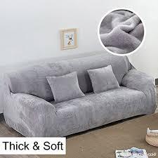 protection pour canapé épais canapé couvertures 1 2 3 4 places couleur protection
