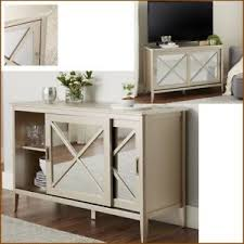 Image Is Loading Mirrored Buffet Console Cabinet Dining Table Sideboard Credenza