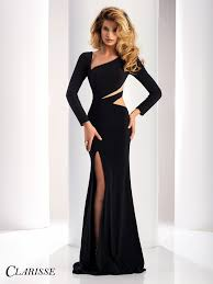 long prom dresses with sleeves l promgirl net