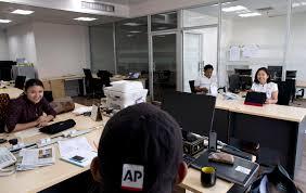 press bureau ap opens bureau in myanmar