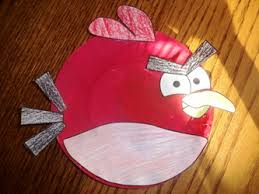 Paper Plates Craft For Angry Birds