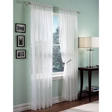 Boscovs Blackout Curtains by Roma Ii Voile Sheer Rod Pocket Panel Boscov U0027s