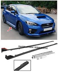 Details About For 15-Up Subaru Impreza WRX STi JDM Style Rocker ... Car Truck Parts Accsories Supplies New Used Ebay Youtube 2001 Chevrolet Tahoe Cars Trucks Tristparts Series 5 Musthave And Modifications Mdgeville Georgia Gcsu Gmc College Restaurant Menu Attorney Speedie Auto Salvage Junkyard Junk Car Parts Auto Truck Us 1299 In Motors Vintage Rebuilt Tramissions Engines Super Duty Ford Home Facebook About Us Eagle