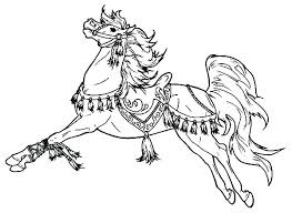 Horse Coloring Pages Baby Free Beautiful Horses