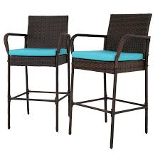Amazon.com: Peach Tree Patio Outdoor Wicker Set Pool Furniture High ... Chair Overstock Patio Fniture Adirondack High Chairs With Table Grand Terrace Sling Swivel Rocker Lounge Trends Details About 2pcs Rattan Bar Stool Ding Counter Portable Garden Outdoor Rocking Lovely Back Quality Cast Alinum Oval And Buy Tables Chairsding Chairsgarden Outside Top 2 Pcs Set Household Appliances Cool Full Size Bar Stools