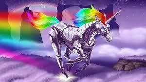 Rainbow Unicorns Wallpaper Entitled