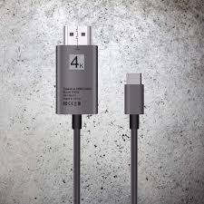 Amazoncom TypeC To HDMI 4K Ultra HD Adapter Cable USB 31 For