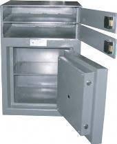 coffre fort classe 2 cb 20 20 tiroir caisse sur le dessus