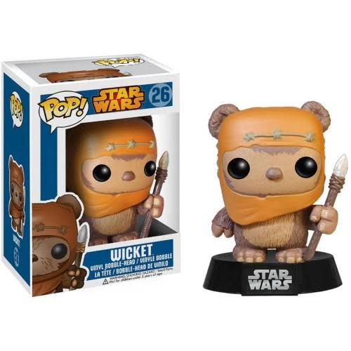 Funko Pop Star Wars Wicket Bobble Head Vinyl Figure