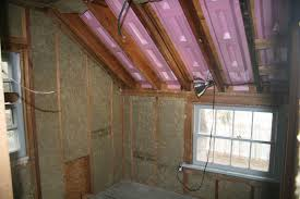 Insulating Cathedral Ceiling With Foam Board by An Old Farm Roxul Vs Fiberglass Vs Foam Insulation