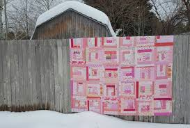 Wonky Log Cabin Quilt Pattern – Quilting