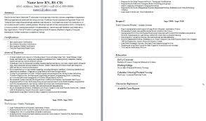 Registered Nurse Cv Sample Icu Resume Examples Check Surgical