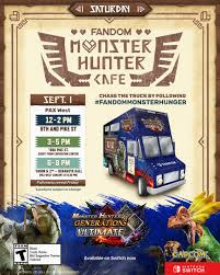 Monster Hunter Food Truck Handing Out Free Food At PAX West | PerezStart