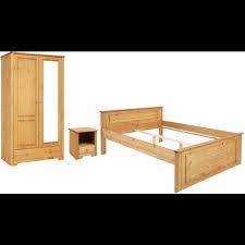 home affaire schlafzimmer set hugo set 3 tlg bett 140cm 2 trg kleiderschrank und 1 nachttisch