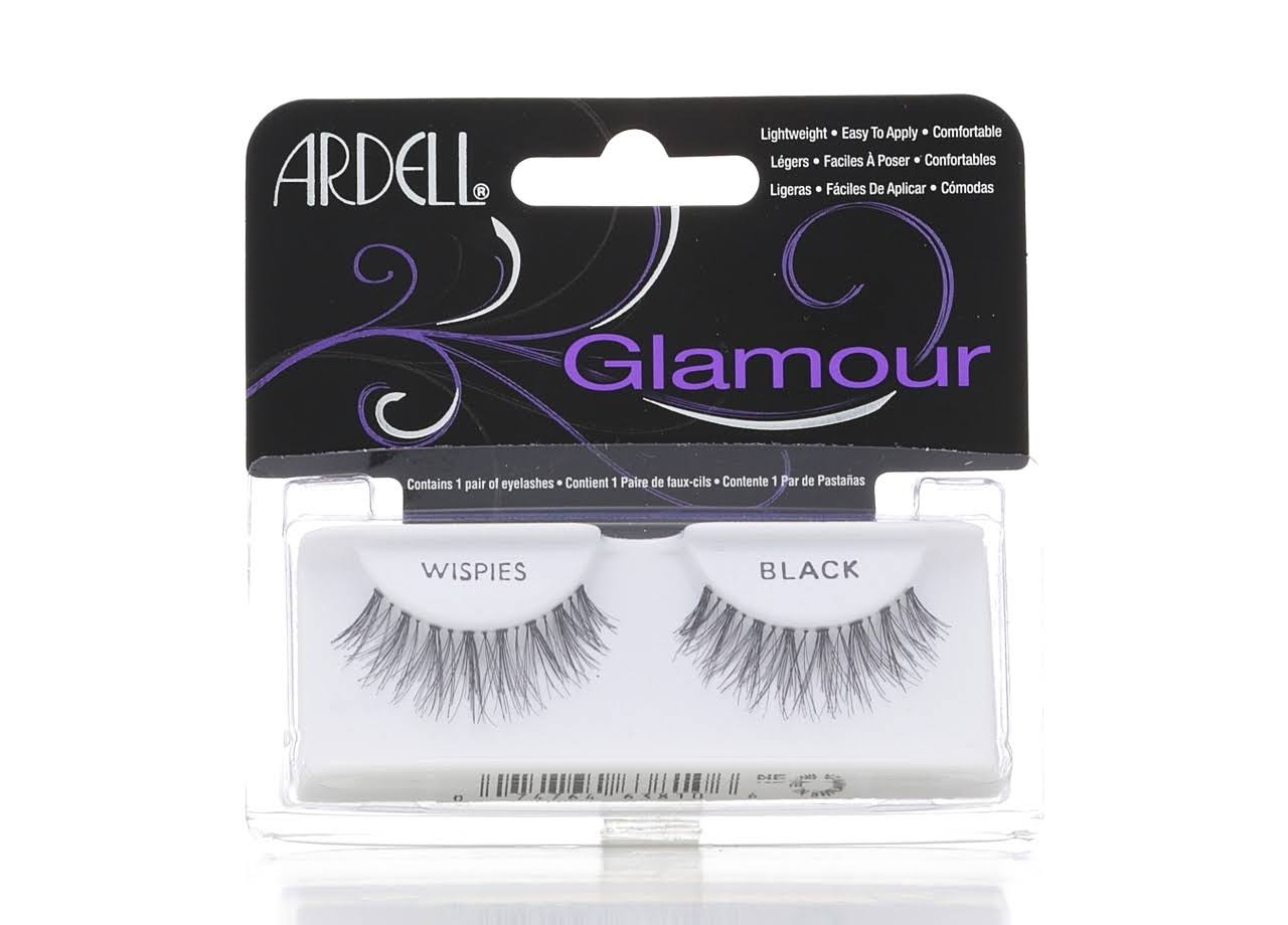 Ardell Natural Full False Eye Lashes - Wispies Black