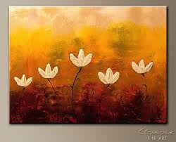 Simple Canvas Painting Touch Of Nature Abstract Art Image By Diy Ideas For
