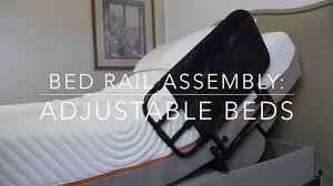 Elderly Bed Rails by Bed Rail Assembly Adjustable Beds Youtube