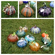 Blown Glass Pumpkins Boston by It U0027s The Great Glass Pumpkin Patch Charlie Brown The Fullerene