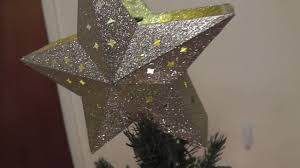 Qvc Christmas Tree Topper by Target Gold Star Christmas Tree Topper Led Projection Youtube
