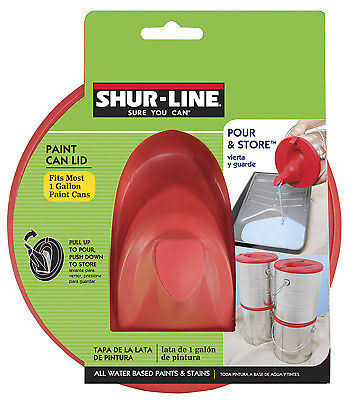 Shur-Line Gallon Paint Can Lid - Red