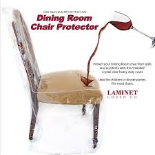 Furniture Protector Dining Room Chair Heavy Duty Glass Clear Vinyl Seat Cover