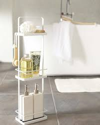 simple and stylish bath rack tower dispenser stand
