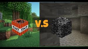 10 000 TNT VS ONE BEDROCK BLOCK Minecraft