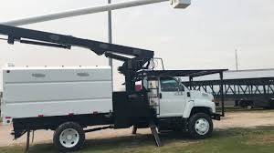 100 Forestry Truck For Sale Bucket Truck For Sale With Chip Box YouTube